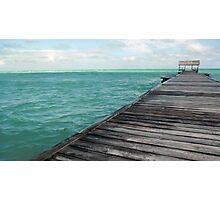 Ocean View - Cuba Photographic Print