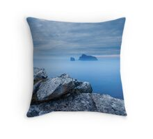 Boreray from Hirta, St Kilda Throw Pillow