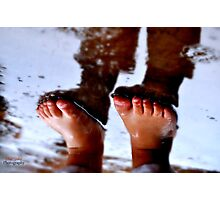 FEET Photographic Print