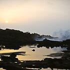watching the sun set by Hannele Luhtasela-el Showk