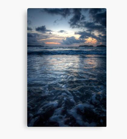 The Oceans Inbetween Us Canvas Print