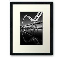 Infinity Bridge Framed Print