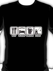 FISHING - EAT SLEEP FISH T-Shirt