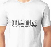 FISHING - EAT SLEEP FISH Unisex T-Shirt