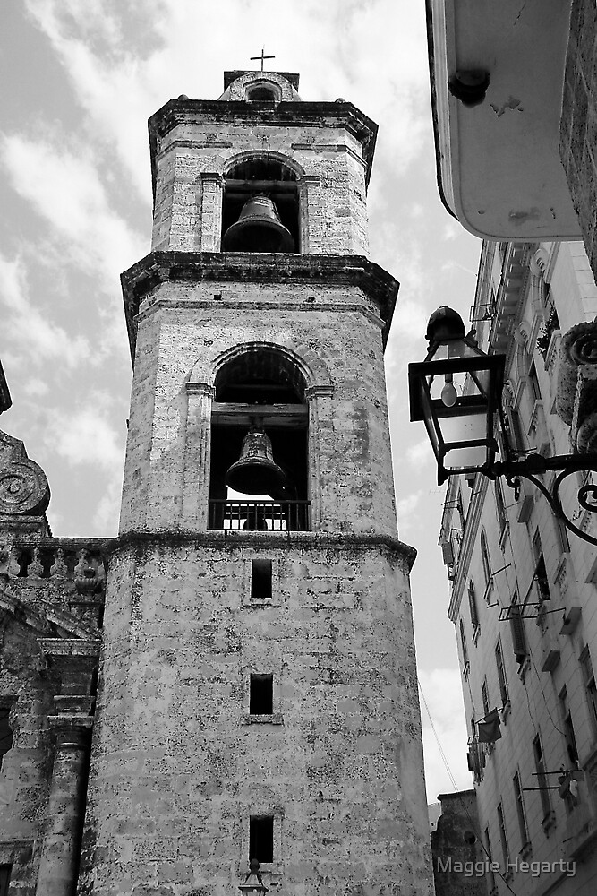 Bell tower, Havana by Maggie Hegarty