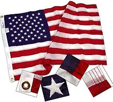 4ft x 6ft Nylon American flag by usflagscom