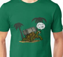 Tortoise in bad mood Unisex T-Shirt