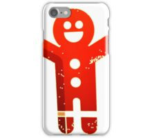 Ginger Bread Man Holiday iPhone Case/Skin