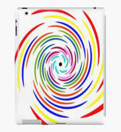 Coloured Spiral iPad Case/Skin