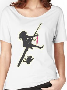SEXY FISHING Women's Relaxed Fit T-Shirt