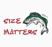 SIZE MATTERS FISHING T Kids Clothes
