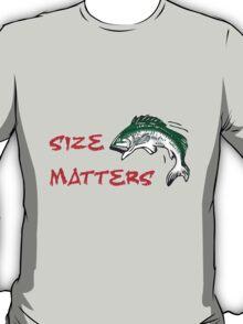 SIZE MATTERS FISHING T T-Shirt