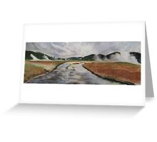 Yellowstone River, Yellowstone NP. Greeting Card