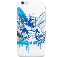 poseidon surfer 4  iPhone Case/Skin