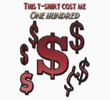 100$ T-shirt by desa-andjela