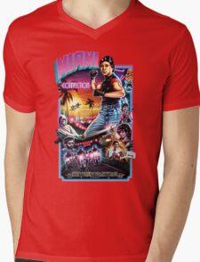 Miami Connection Poster Shirt Mens V-Neck T-Shirt