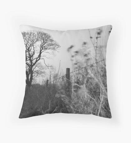 Yin and Yang,Bury St Edmunds,Long Exposure Photography Throw Pillow