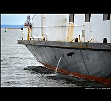 Anchored Park City Ferry Detail - Port Jefferson, New York  by © Sophie W. Smith