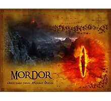Greetings from Mount Doom Photographic Print