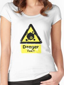 Danger Toxic Women's Fitted Scoop T-Shirt