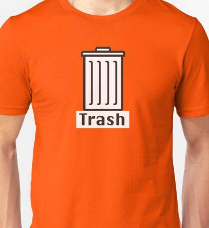 Retro Classic Mac Trash  Unisex T-Shirt