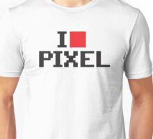 I love pixel Unisex T-Shirt