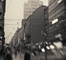 Helsinki - Torni - far view by Michal Tokarczuk