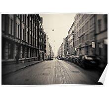 Helsinki - street Poster