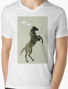Arabian Nights Mens V-Neck T-Shirt