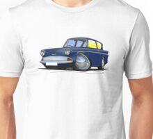 Ford Anglia 105e Dark Blue Unisex T-Shirt