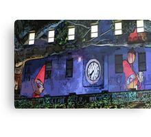 Gnomes in the Clocktower Metal Print