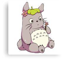 Chibi Totoro Canvas Print
