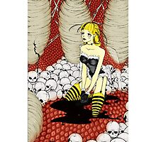 Bee Queen Photographic Print