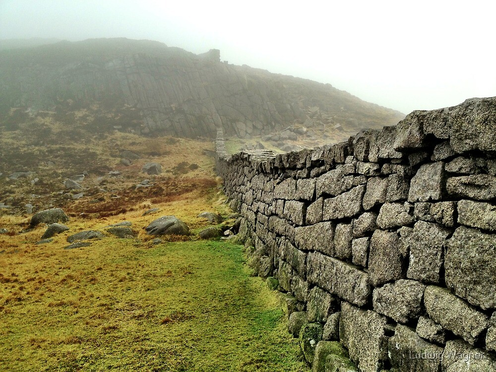 Hare's Gap, Mourne Mountains, Northern Ireland by Ludwig Wagner