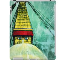 Buddha Stupa Green iPad Case/Skin