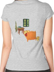 Vincent's Room Women's Fitted Scoop T-Shirt