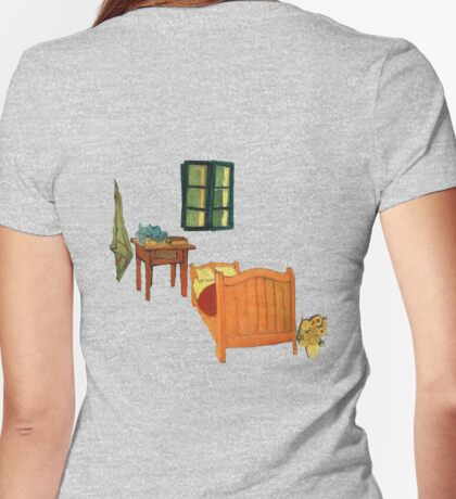 Vincent's Room Womens Fitted T-Shirt