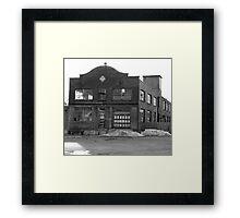 Old Factory Framed Print