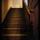 Staircase to …. by Liz Alderdice Art