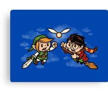 A Link to the Snitch Canvas Print
