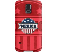 'MERICA T-Shirt. America. Jesus. Freedom. - The Campaign Samsung Galaxy Case/Skin