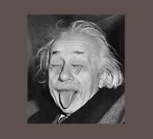 Einstein Sticking Out Tounge With Mouth Eyes Unisex T-Shirt