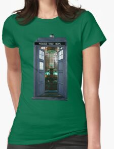 Inside The Tardis Womens Fitted T-Shirt