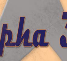Vintage Alpha 3-9 Sticker