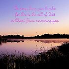 In Everything Give Thanks by aprilann