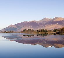 Derwent Water - The Lake District by Steven  Lee
