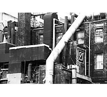 Black & White Building Top Photographic Print