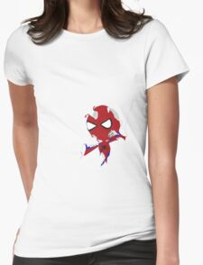 Zombie- Spider Womens Fitted T-Shirt
