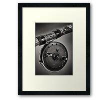 Vintage Fishing Reel Framed Print