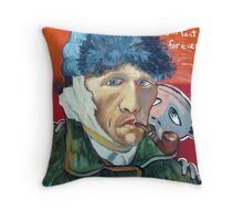 Vincent (brainstemming.com) Throw Pillow